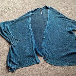 Free People open knit cardigan